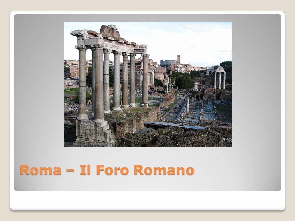 Roma – Il Foro Romano