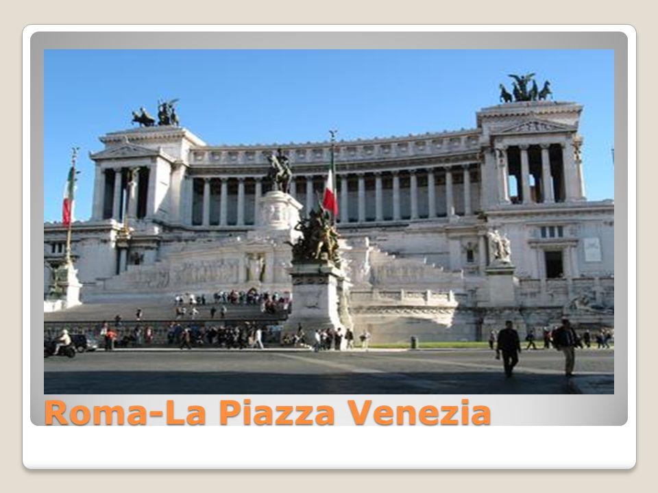 Roma-La Piazza Venezia