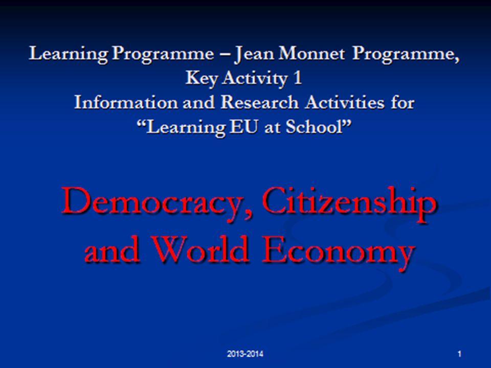 I L P ARLAMENTO EUROPEO E LE PROSSIME ELEZIONI 2014 2 2013-2014