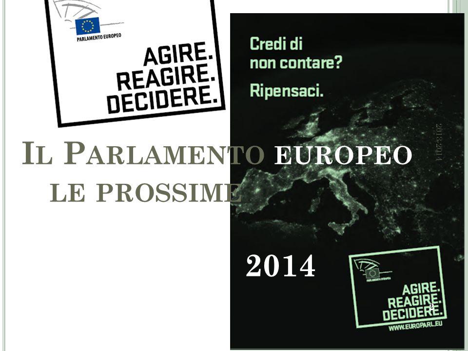 L E DATE DELLE ELEZIONI 3 2013-2014
