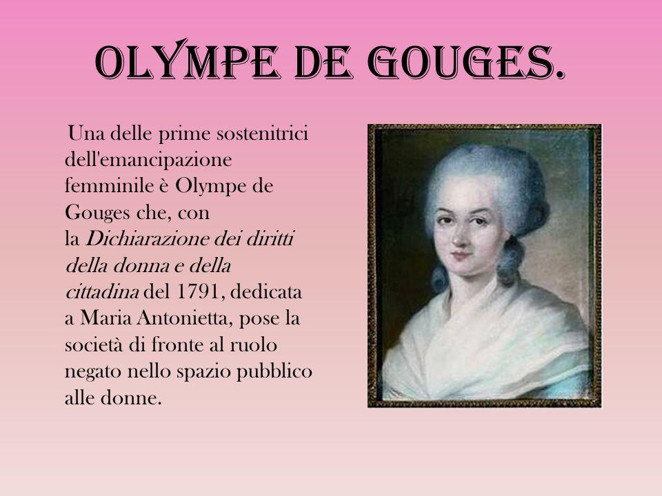 Olympe de Gouges.