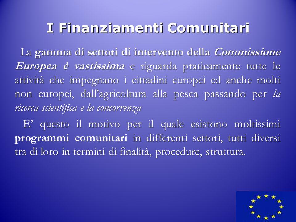 La gamma di settori di intervento della Commissione Europea è vastissima e riguarda praticamente tutte le attività che impegnano i cittadini europei e
