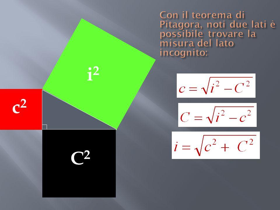 1 1 22 1 Si costruisce il triangolo rettangolo isoscele con i cateti che misurano 1; per il teorema di Pitagora l'ipotenusa misura Se si costruisce un altro triangolo rettangolo con i cateti che misurano 1 e  2, per il teorema di Pitagora l'ipotenusa misura 33