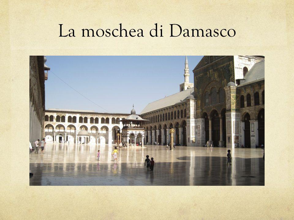 La moschea di Damasco