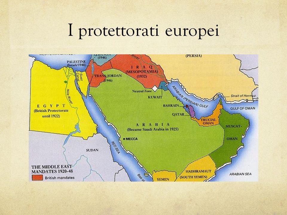 I protettorati europei