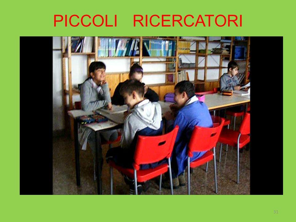 PICCOLI RICERCATORI 31