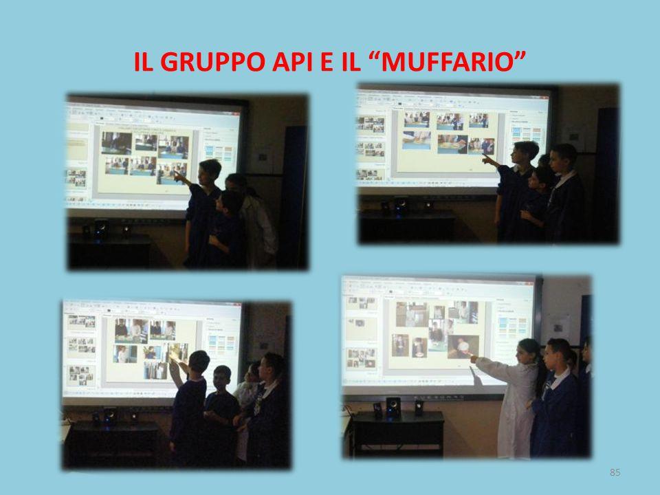 IL GRUPPO API E IL MUFFARIO 85