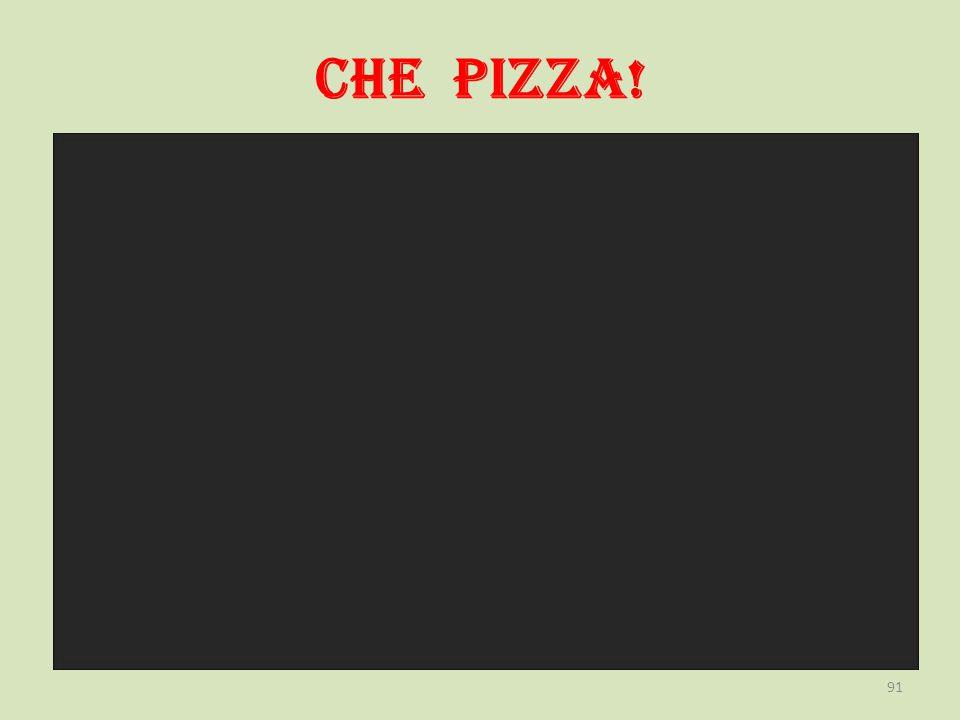 CHE PIZZA! 91