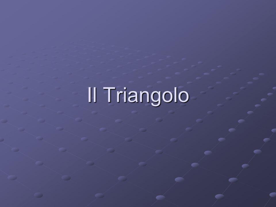 Triangolo equilatero Il triangolo rettangolo ha tutti i lati e gli angoli uguali Se la somma dei 3 angoli interni è di 180° il valore di tali angoli sarà: 180° : 3 = 60°