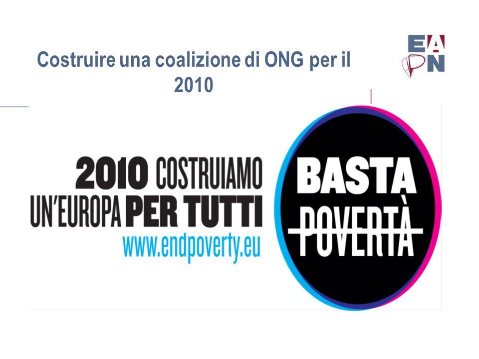 Costruire una coalizione di ONG per il 2010