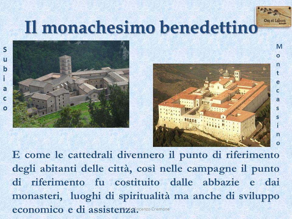 E come le cattedrali divennero il punto di riferimento degli abitanti delle città, così nelle campagne il punto di riferimento fu costituito dalle abb