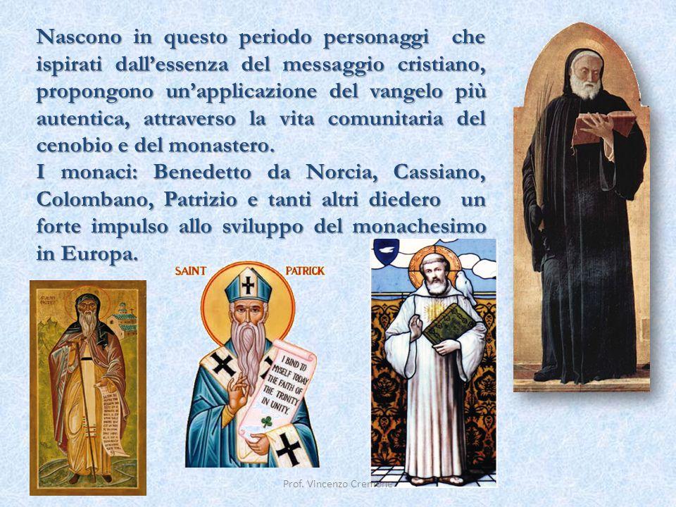 Nascono in questo periodo personaggi che ispirati dall'essenza del messaggio cristiano, propongono un'applicazione del vangelo più autentica, attraver
