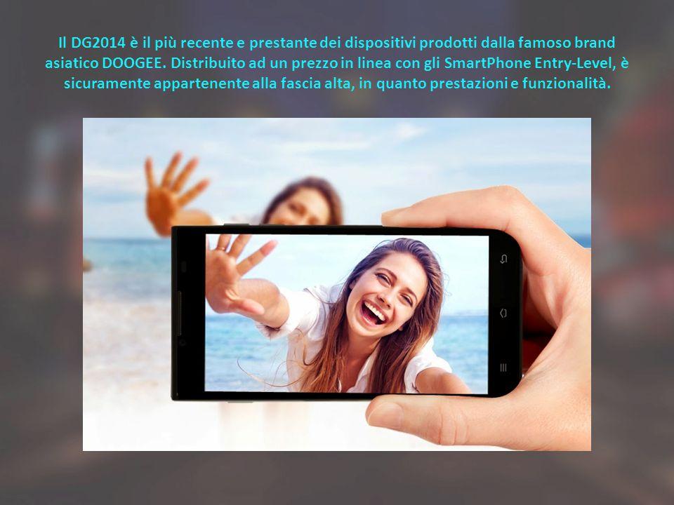 Il DG2014 è il più recente e prestante dei dispositivi prodotti dalla famoso brand asiatico DOOGEE. Distribuito ad un prezzo in linea con gli SmartPho