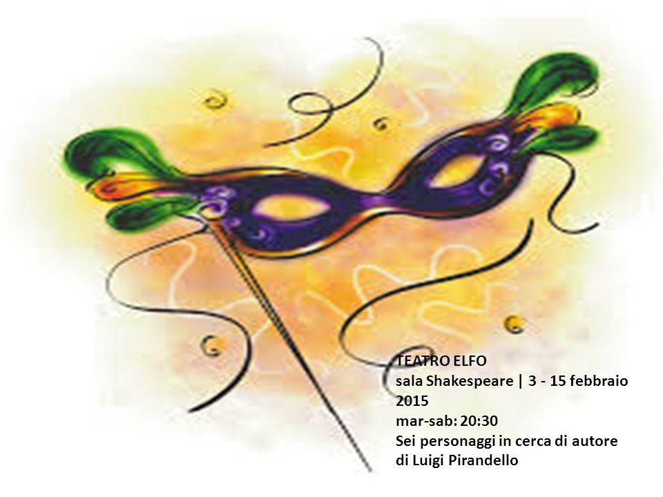 al Piccolo Teatro Strehler da martedì 24 Febbraio a domenica 8 Marzo Re Lear Il grande studioso Harold Bloom dice che a Shakespeare dobbiamo