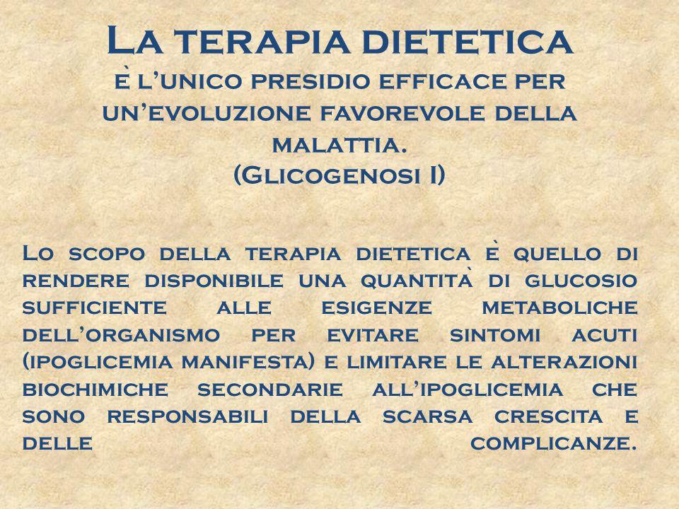 L'educazione alimentare Terapia dietetica