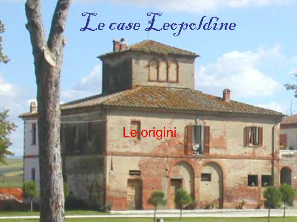 Le case Leopoldine Le origini