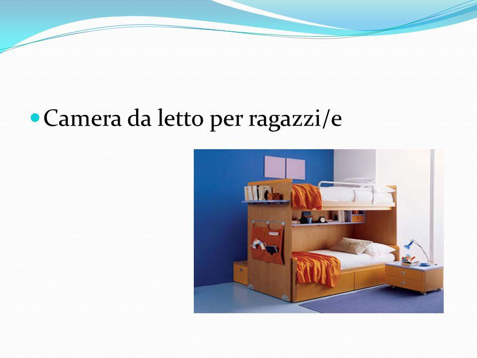 Camera da letto per ragazzi/e