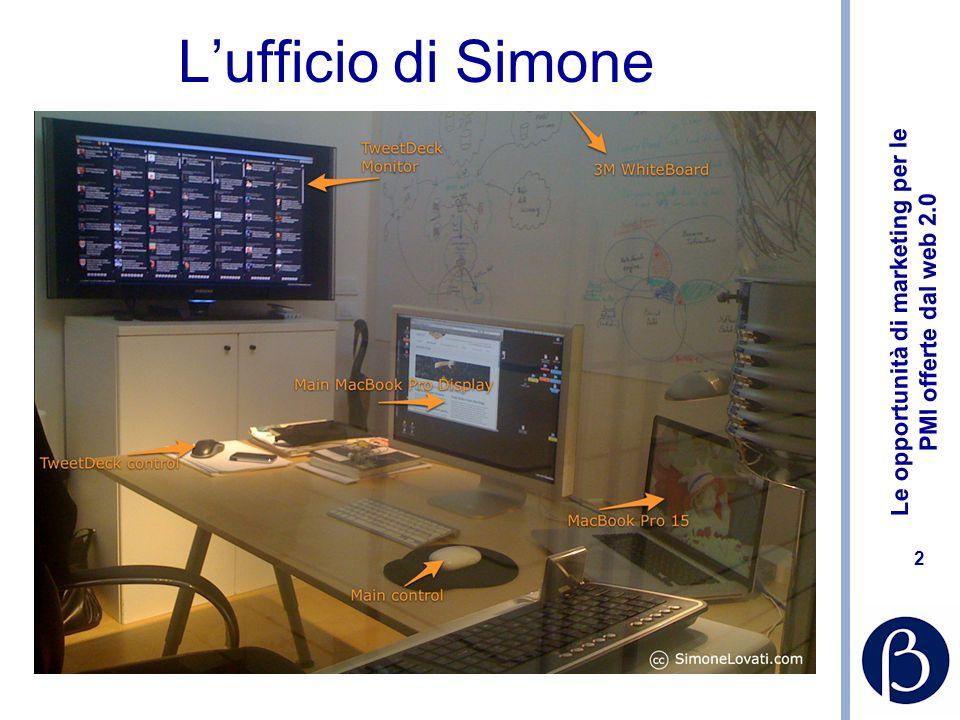 Le opportunità di marketing per le PMI offerte dal web 2.0 2 L'ufficio di Simone