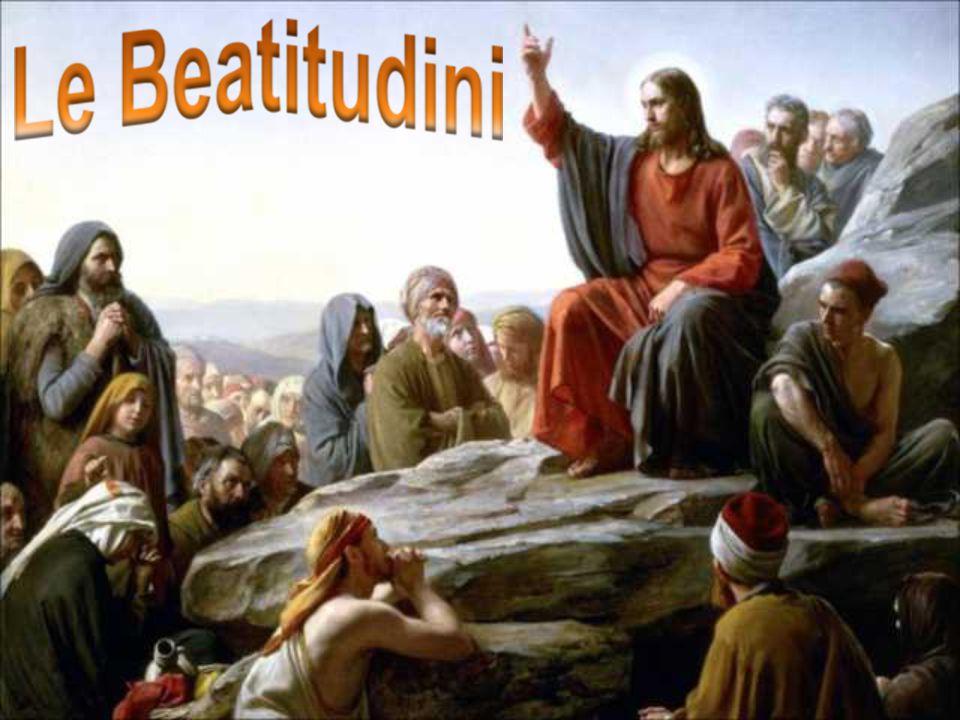Le Beatitudini sono la nuova Legge dell'Amore che Gesù ci ha donato scrivendola nei nostri cuori.