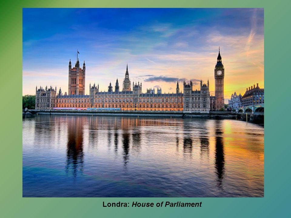 Londra: House of Parliament