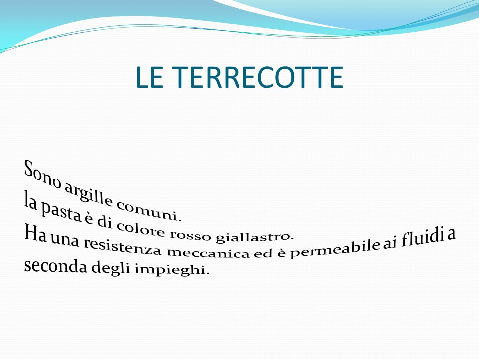 LE TERRECOTTE