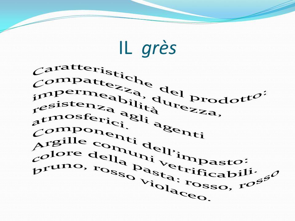 LA PORCELLANA Caratteristiche del prodotto: Sono i prodotti più pregiati dell'industria ceramica: ottima compattezza, pasta omogenea, sonora, impermeabile, resistente e lucente.