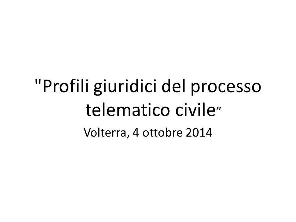 Il processo telematico civile e le preclusioni alle difese della parte di Claudio Cecchella