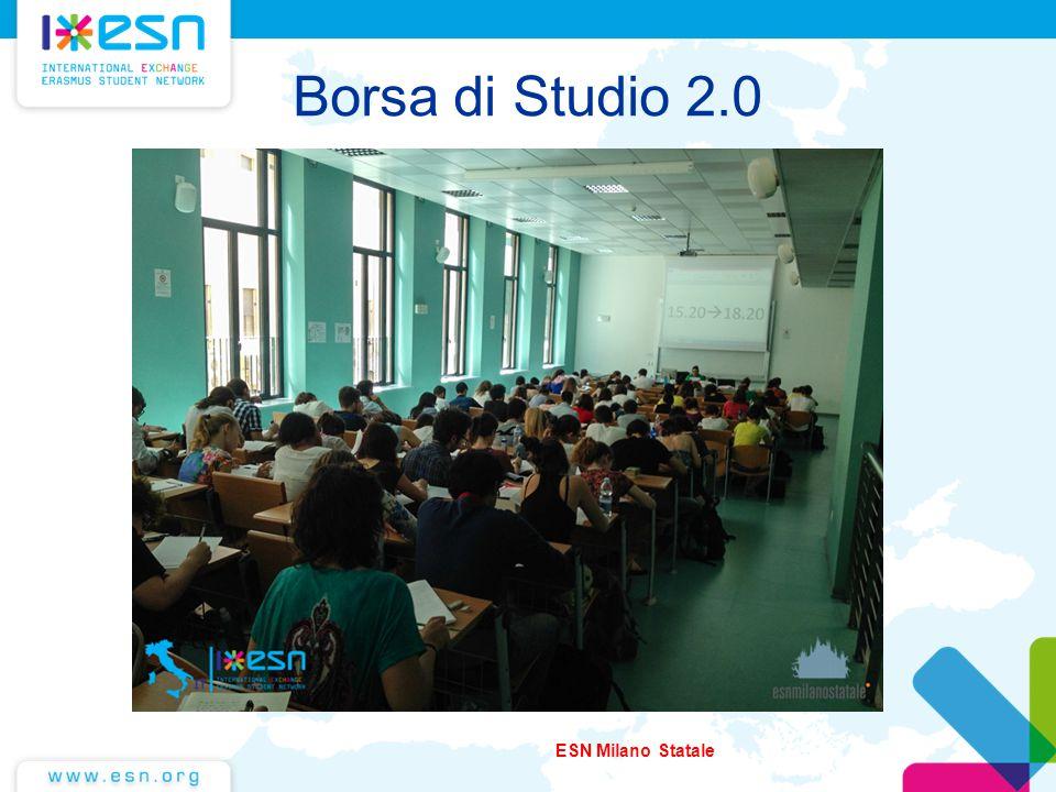 Borsa di Studio 2.0 ESN Milano Statale