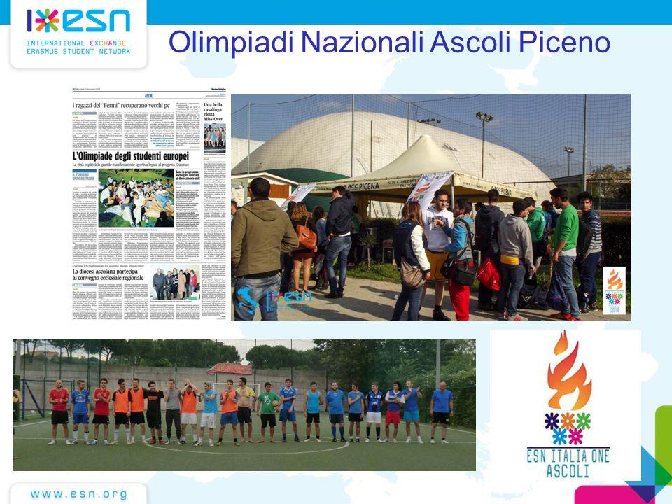 Fare clic per modificare lo stile del sottotitolo dello schema Olimpiadi Nazionali Ascoli Piceno