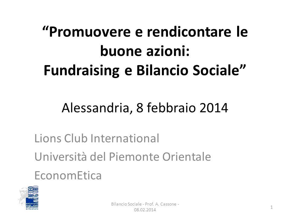 Prof.Alberto Cassone Prof.