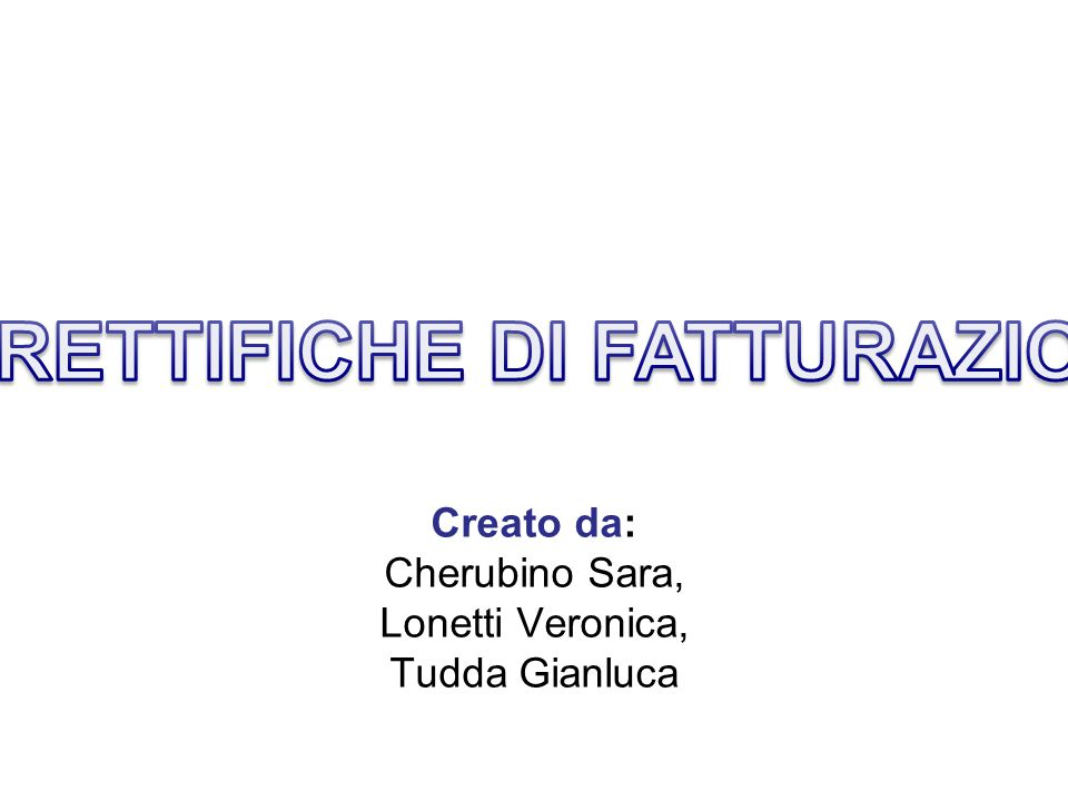 Creato da: Cherubino Sara, Lonetti Veronica, Tudda Gianluca