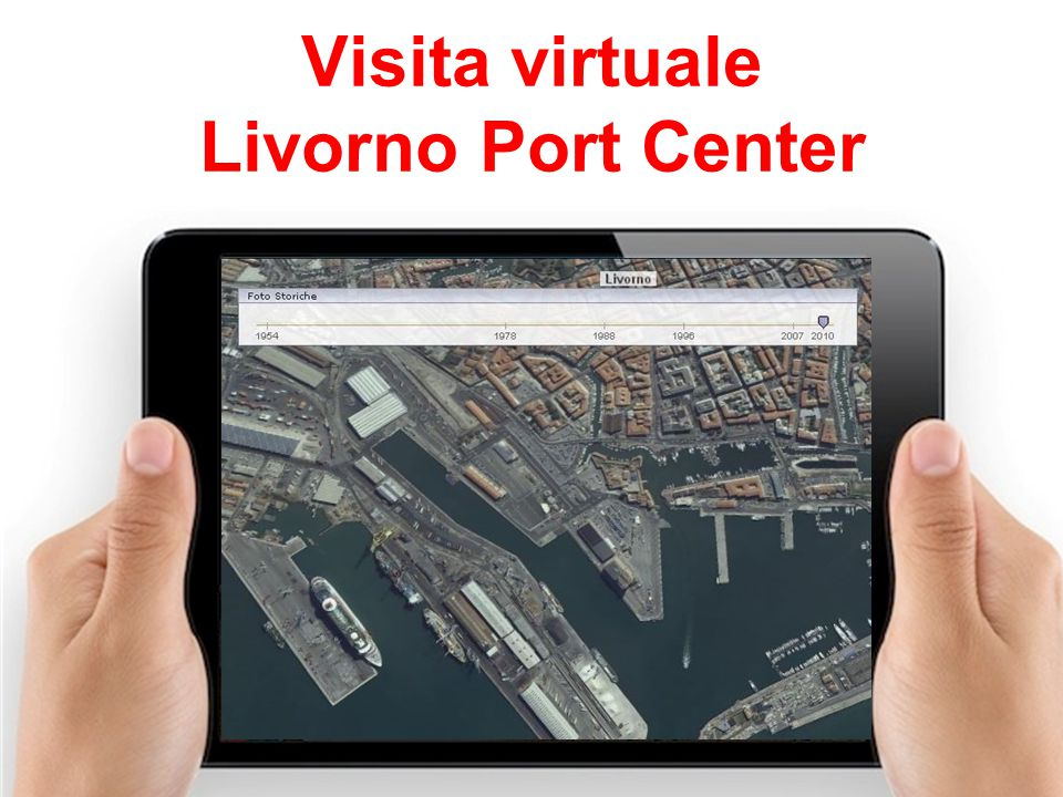 Visita virtuale Livorno Port Center