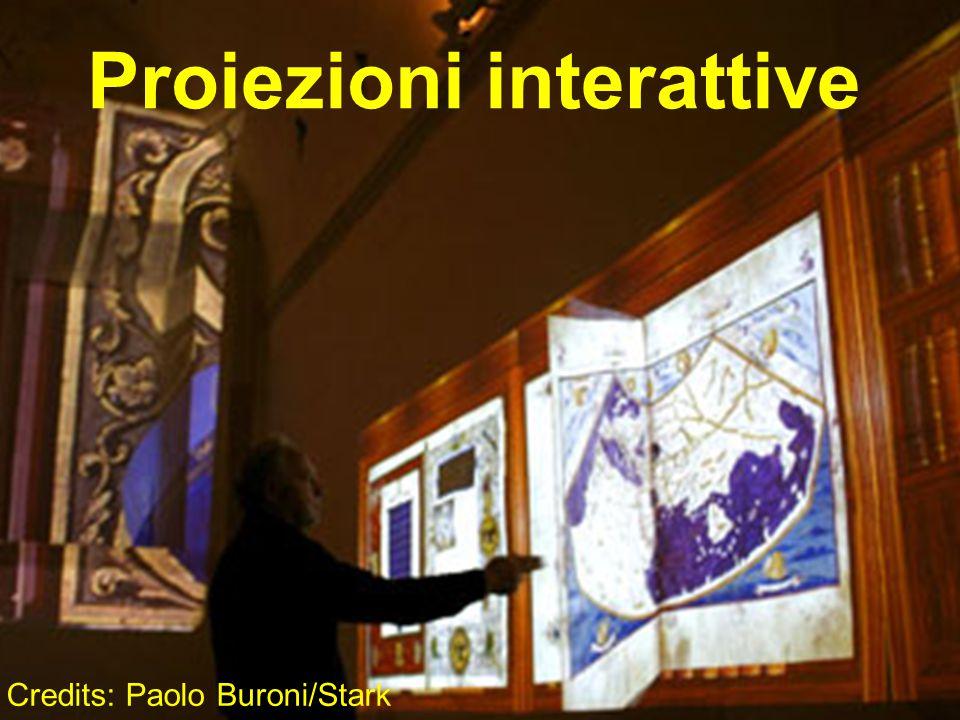 Proiezioni interattive Credits: Paolo Buroni/Stark
