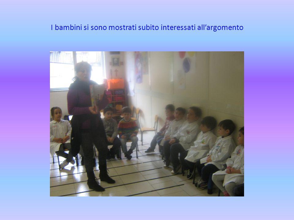 I bambini si sono mostrati subito interessati all'argomento