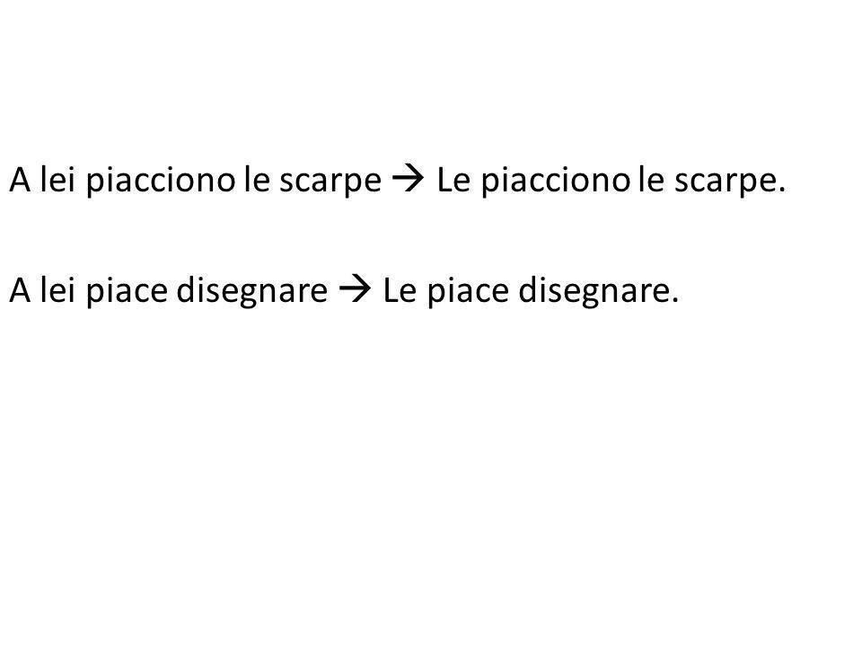 Indicate il SOGGETTO del verbo piacere.1.a. Mariab.