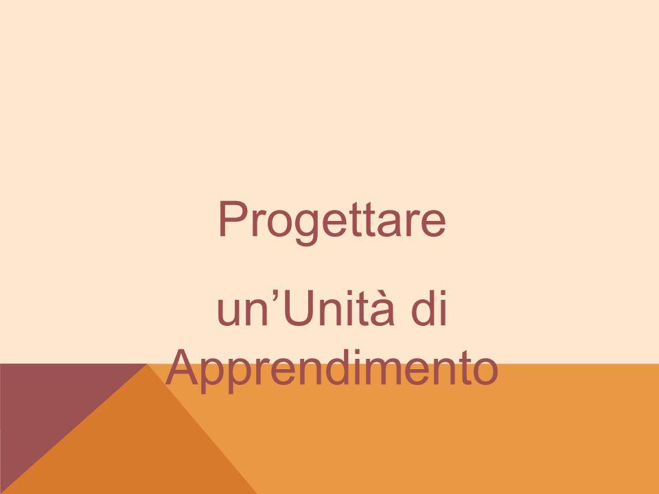 Progettare un'Unità di Apprendimento
