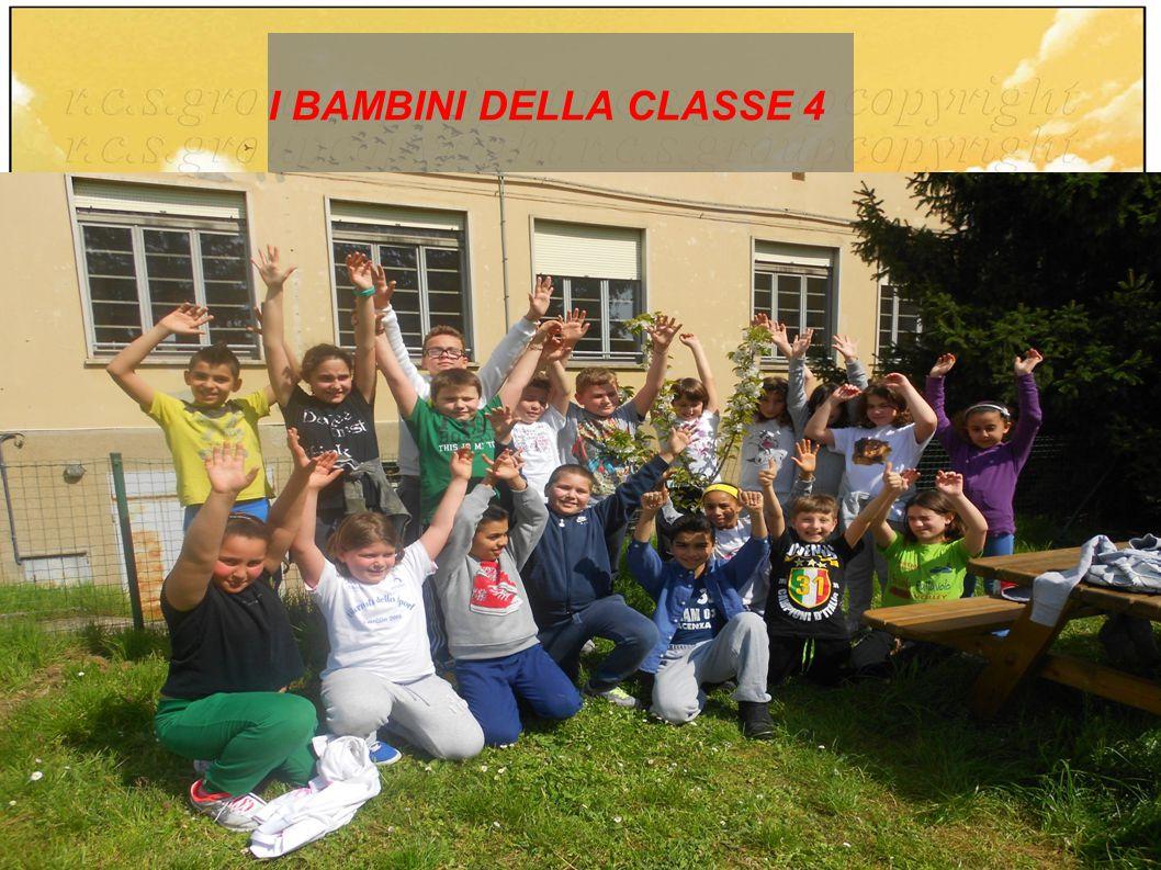I BAMBINI DELLA CLASSE 4