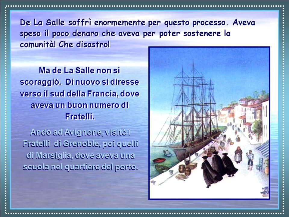 Il giovane Jean-Charles Clément visitò De La Salle e gli propose di aiutarlo ad aprire un nuovo Seminario di Maestri per la campagna, con i soldi di un'eredità che stava per ricevere.