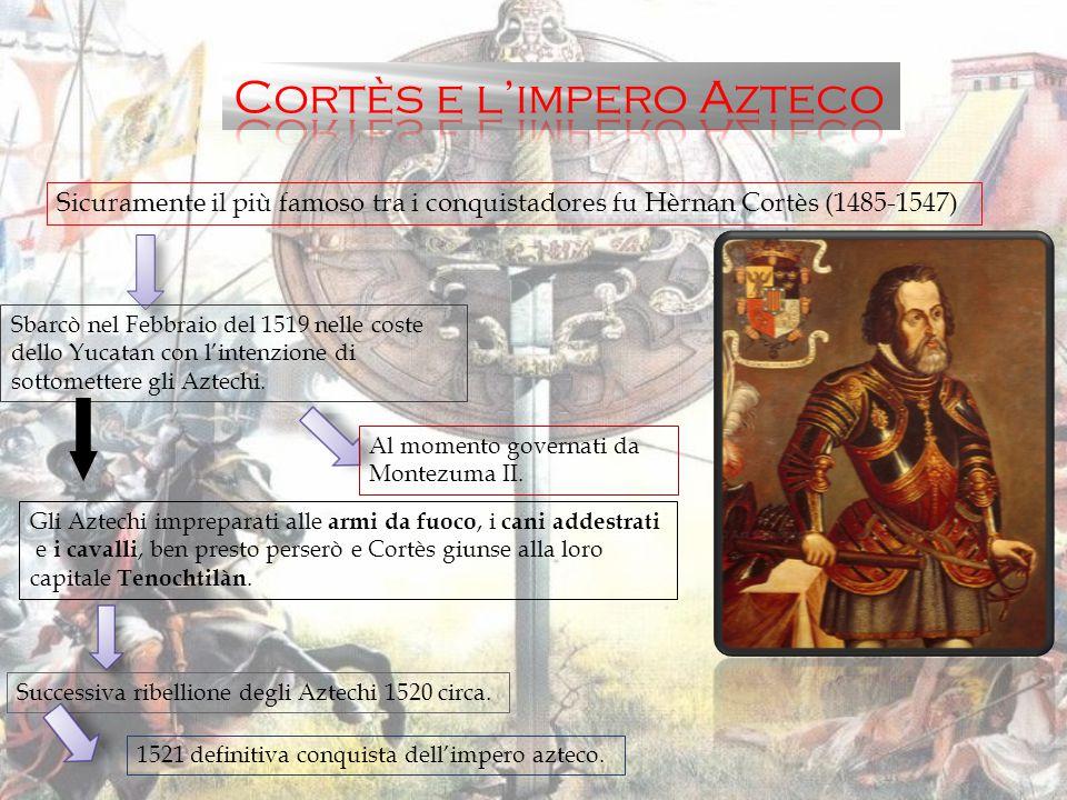 Tra il 1524 e 1546 nell'America meridionale vi furono molte conquiste da parte dei conquistadores spagnoli.