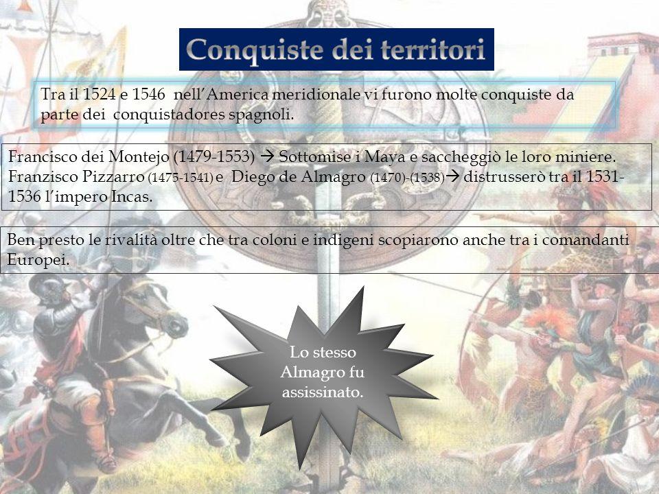 Fu in quel momento che la monarchia Spagnola si intromise regolando i rapporti con gli indigeni.