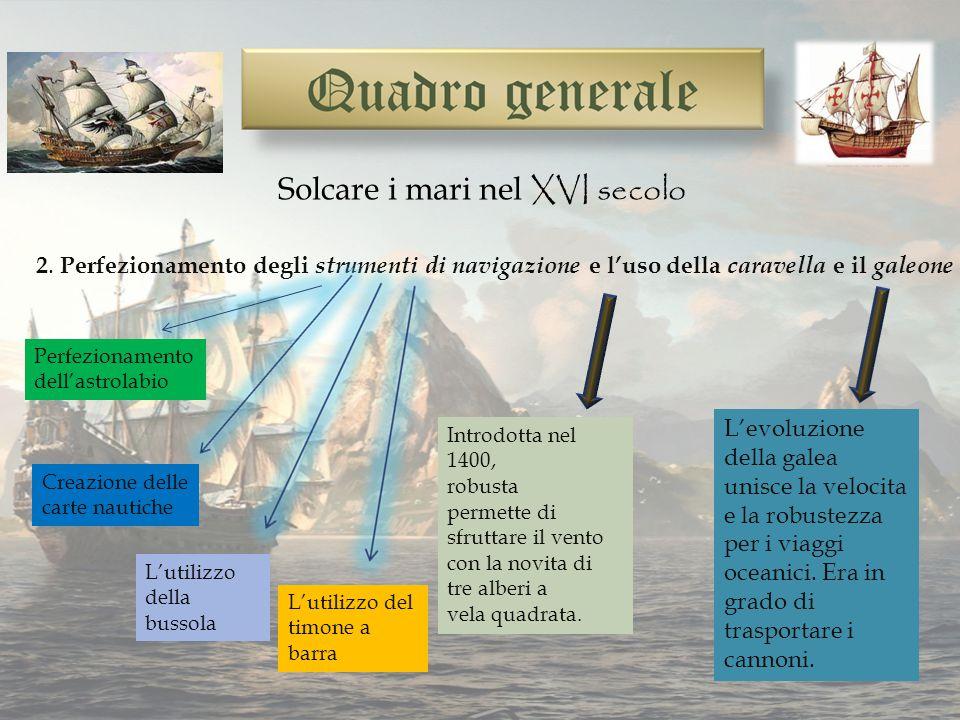 Solcare i mari nel XVI secolo 2.