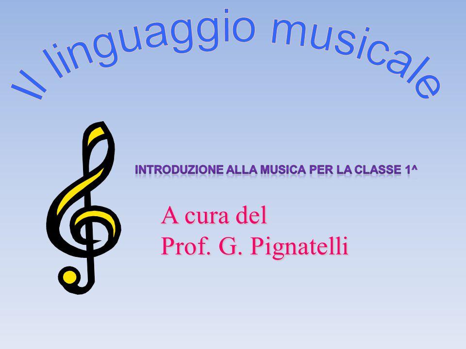 A cura del Prof. G. Pignatelli
