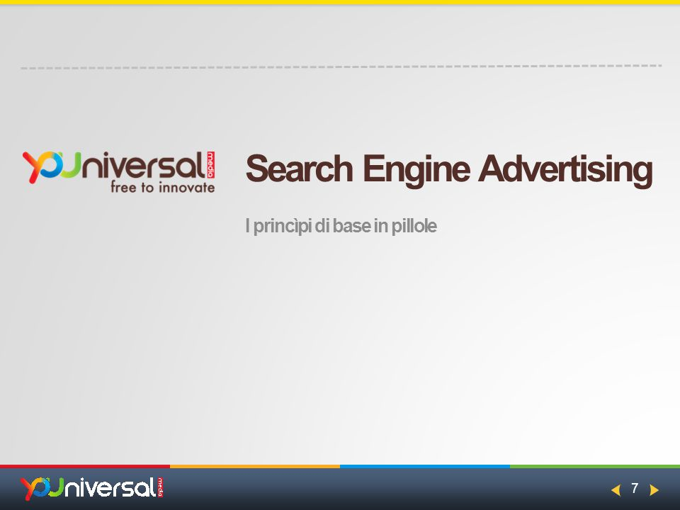 7 Search Engine Advertising I princìpi di base in pillole