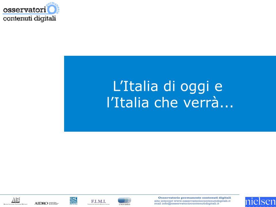 L'Italia di oggi e l'Italia che verrà...