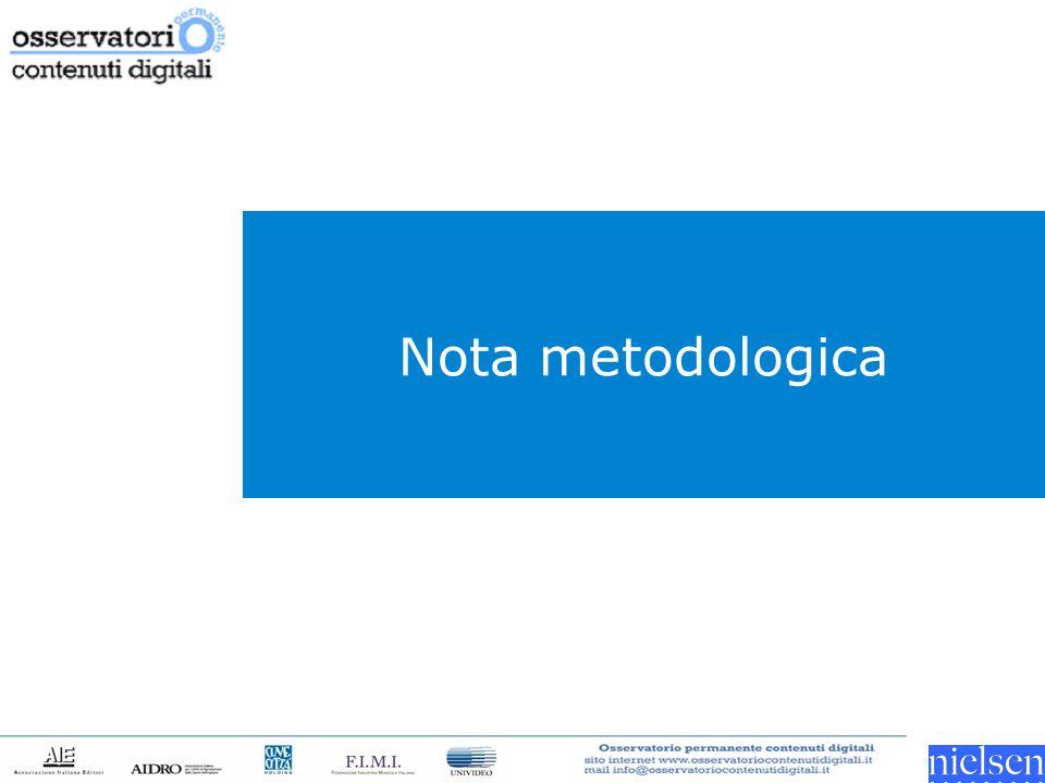 Nota metodologica