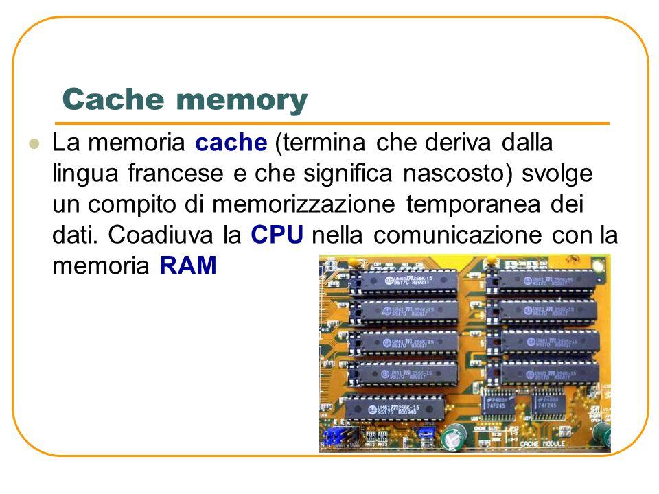"""Memoria ROM La ROM (Read Only memory) è una memoria a sola lettura. Contiene un programma che permette di """"accendere"""" il computer, chiamato BIOS (Basi"""