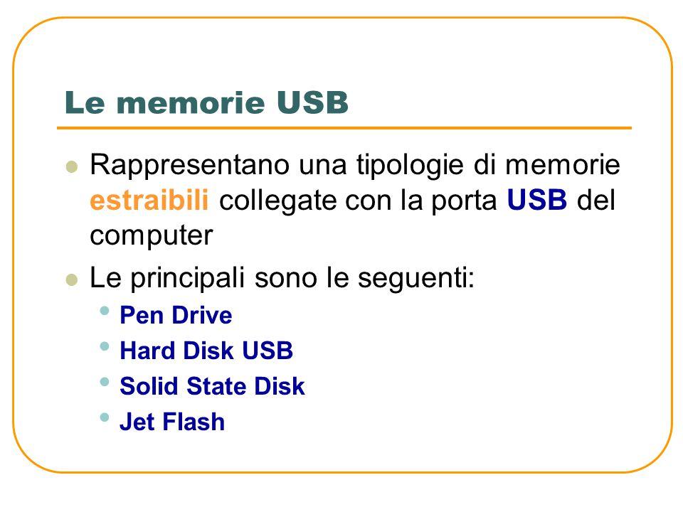 Memorie di massa Blu-ray Disk Sono esteticamente del tutto simili a i CD e ai DVD Vengono usati soprattutto per memorizzare film ad alta definizione H
