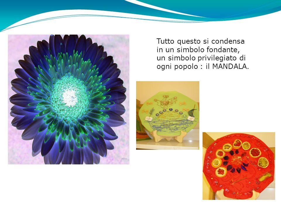 Tutto questo si condensa in un simbolo fondante, un simbolo privilegiato di ogni popolo : il MANDALA.
