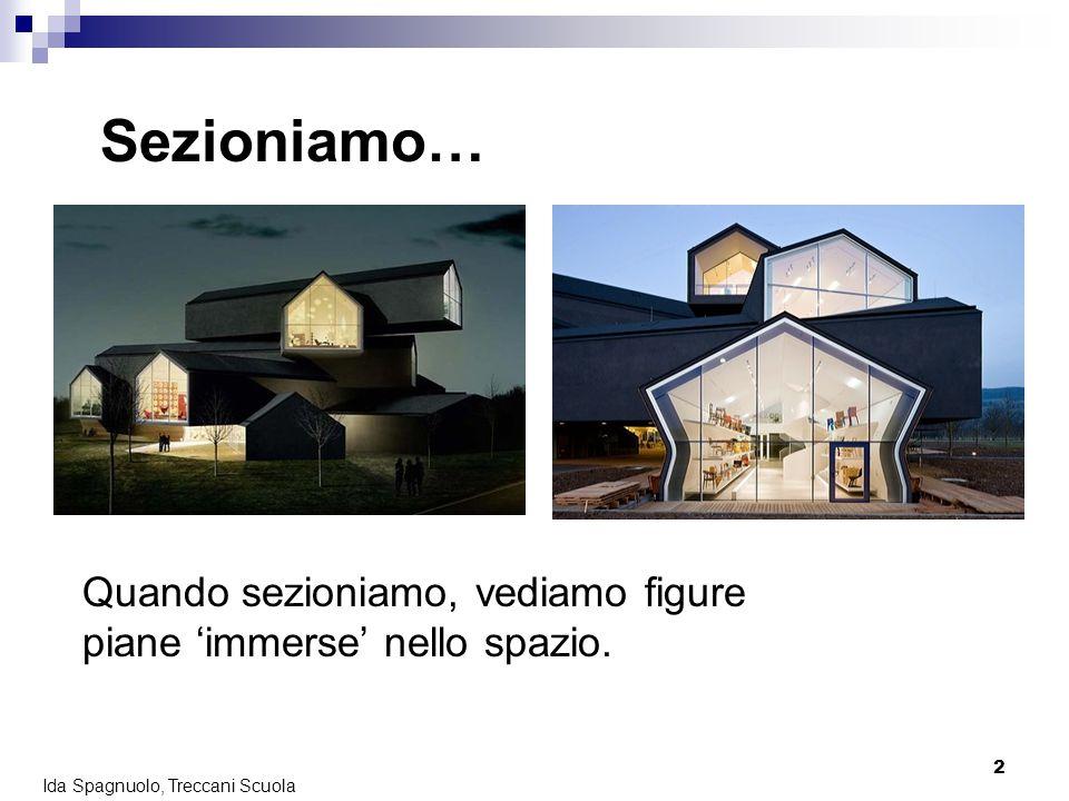 13 Ida Spagnuolo, Treccani Scuola Nella realtàIn geometria Più di uno, molti,…Infiniti Formano un fascio di piani Quanti piani passano per una retta.