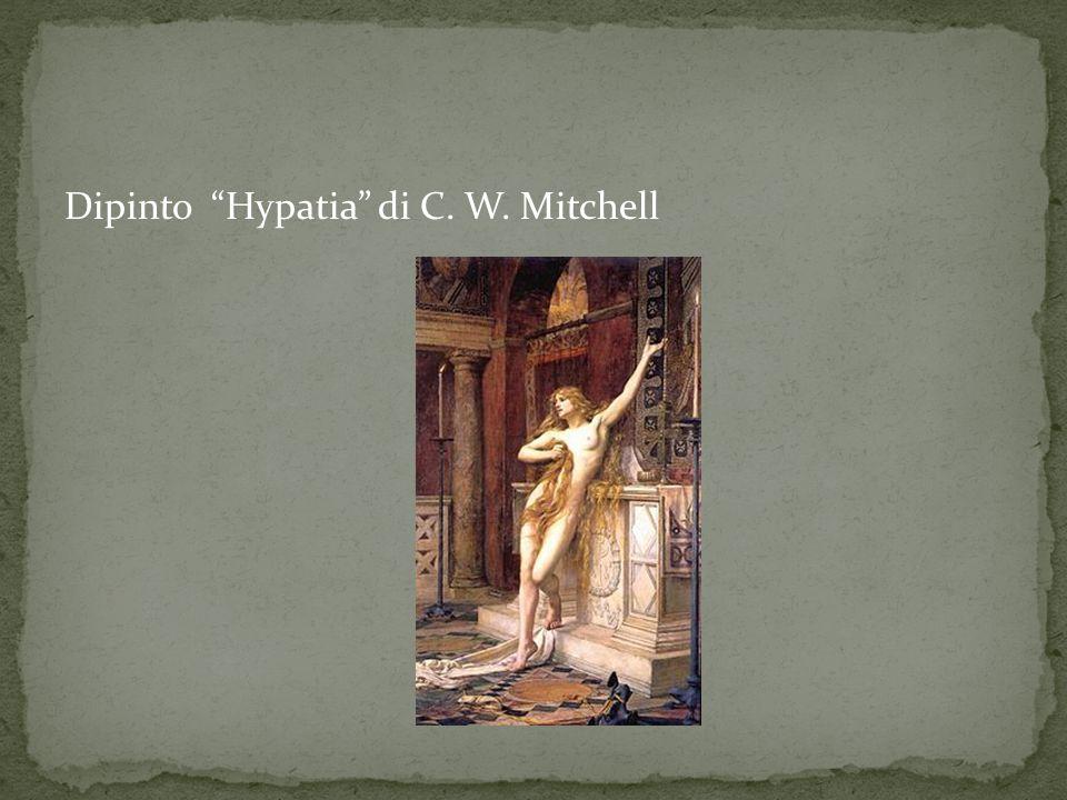 Dipinto Hypatia di C. W. Mitchell